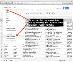 Google Spreadsheets Help Google Sheets Stack For Rapidweaver