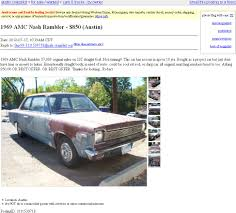 rambler car for sale project car hell muscle car clone edition studebaker super lark