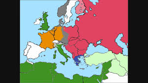 Map Of Europe World War 2 by World War 2 Europe Simulation Part 4 1945 Youtube