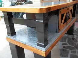 Kitchen Side Table Recycling An Out Dated Coffee Table Into A Useful Kitchen