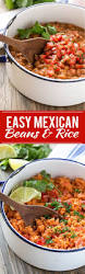 easy mexican pinto beans and rice dinner at the zoo