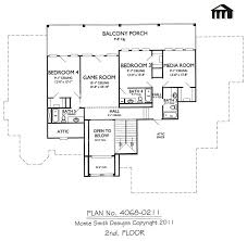 Ultra Modern House Plans 2 Story House Plans With 4 Bedrooms Two Balconies Bedroom Modern