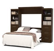red barrel studio jordan queen storage murphy bed u0026 reviews wayfair