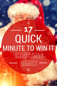 Christmas Games For Party Ideas - looking for some quick minute to win it christmas games for your