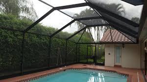 pool enclosure repair screen enclosure rescreening palm beach