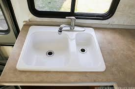 rv kitchen sinks and faucets how to remove your rv kitchen sink mountainmodernlife com