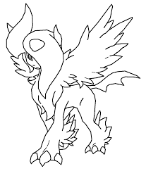 all legendary pokemon coloring pages kids coloring