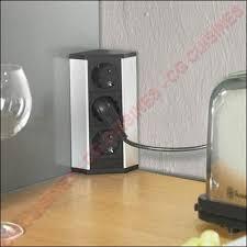 bloc prise cuisine escamotable bloc 3 prises d angle noe3 achat vente de blocs prises électriques