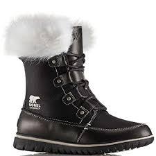 sorel womens boots uk sorel s cozy joan x celebration boots black amazon co uk