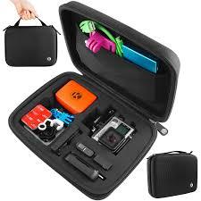 Amazon Travel Accessories Amazon Com Camkix Carrying Case For Gopro Hero 4 Black Silver