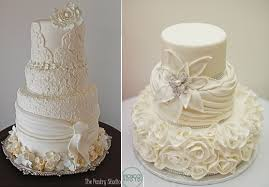 fabric effect wedding cakes cake geek magazine
