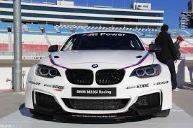 bmw race series bmw m235i racing car exclusive photos