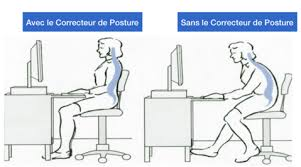 posture bureau orthèse magnétique de correction de posture unisex vogadget