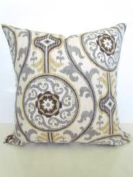 tan pillows tan throw pillow covers gray pillows grey