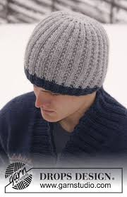 christmas gift idea for boyfriend knitted drops men u0027s hat in