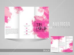 professional business trifold brochure flyer banner or template