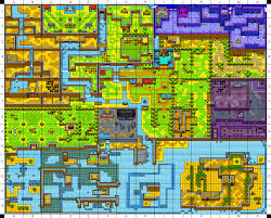 Wind Waker Map Image Labrynna Coordinate Map Present Png Zeldapedia