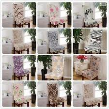 chair seat cover dining chair slipcover ebay