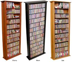 Large Dvd Storage Cabinet Cd Dvd Storage Fabulous Oakland Tall Single Cd Dvd Storage Unit