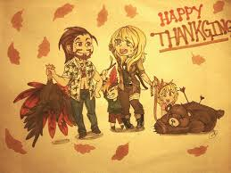 happy late thanksgiving by lazycatlady on deviantart