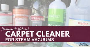 Homemade Upholstery Shampoo Homemade Natural Carpet Cleaner For Steam Vacuums