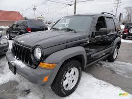 2006 black jeep liberty 2006 jeep liberty sport 4x4 in black 103083 jax sports cars