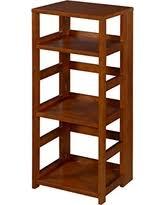 winter bargains on niche 2 shelf bookcase warm cherry