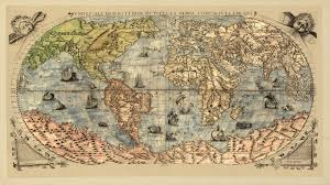 Self Adhesive Old World Map Wallpaper Download