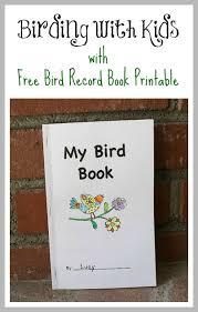 free printable bird book for birding with kids bird book