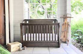 Oak Convertible Crib by Furniture Rustic Nursery Furniture Cribs With Changing Table