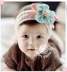 baby girl hair bows free shipping new baby flower hairband infant lace hair
