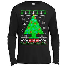 chemistry chemist tree sweater teedragons