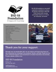 news and events isd 88 foundation