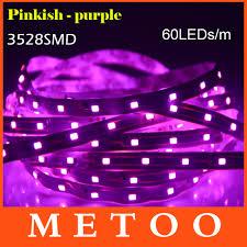 12v Led Light String 5 meter 300leds led strip light 3528 smd 60leds m non waterproof