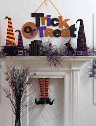 Decorate Your Home For Halloween 14 Last Minute Ways To Style Your Haunted Halloween Mantle