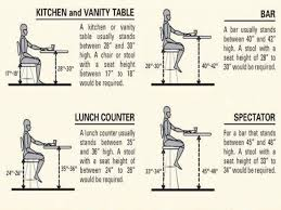 kitchen standard counter height pull out bar table regarding