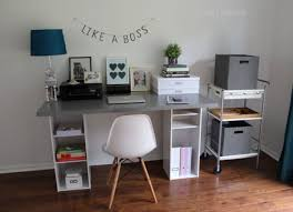 Couples Computer Desk Diy Desk 15 Easy Ways To Build Your Own Bob Vila