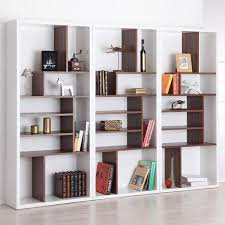 Modern Bookcases With Doors Decorating Best Bookshelf Designs Modern Minimalist Bookcase Wall