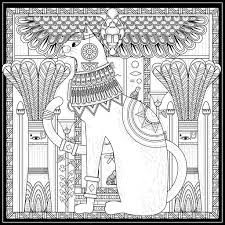 egypt u0026 hieroglyphs coloring pages for adults justcolor