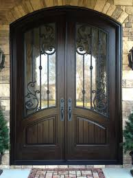 Door Design In Wood Front Double Door Designs In Wood Entry Glazed Styles Entryway