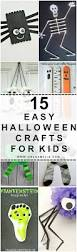 Easy Halloween Crafts For Kindergarteners by 15 Easy Halloween Crafts For Kids Oh So Amelia