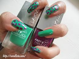 spring nails lakme fast and fabulous nail color going green and