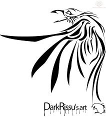 tribal crow tattoo designs group 70