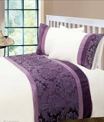 bed sheet quality aubergine colour modern stylish damask bedding quality duvet quilt