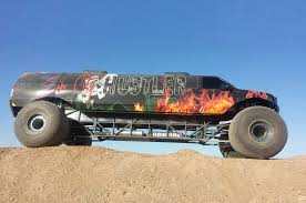 monster truck own this stretched ford excursion monster truck for 1 million