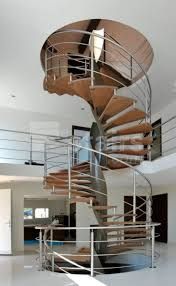 Spiral Staircase by Spiral Staircase Wooden Steps Metal Frame Without Risers