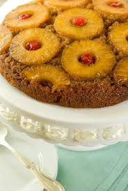 gluten free pineapple upside down cake recipe