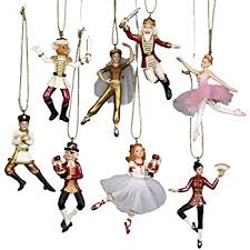nutcracker ornaments wood handpainted assorted set
