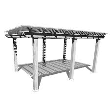 Aluminum Pergola Manufacturers by Shop Americana Building Products 144 In W X 240 In L X 112 5 In H