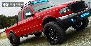 lifted 2004 ford ranger wheel offset 2004 ford ranger hella stance 5 leveling kit custom